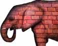The Brick Elephant