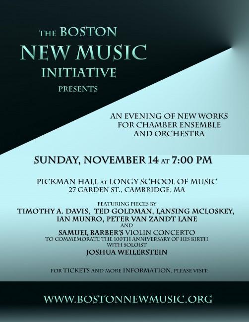 Boston New Music Initiative