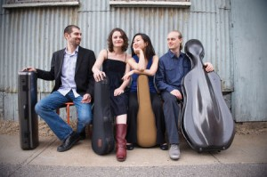 Image of Chiara Quartet by Liz Linder