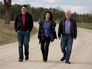 Kathryn Findlen, Kenneth Frazelle, & Rick Masters