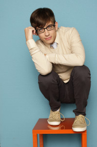 """Glee"" star Kevin Michael McHale"