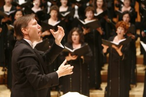 Grant Gershon, Music Direcgtor, Los Angeles Master Chorale,