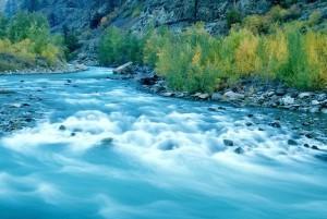 Fraser River along Alaska Highway