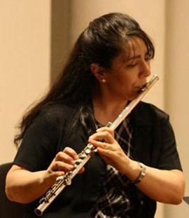 Flutist Laura Falzon