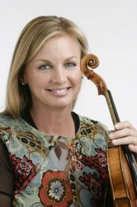 Los Angeles Chamber Orchestra Concertmaster Margaret Batjer