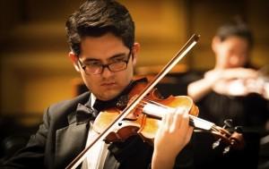 Young Artists Symphony Orchestra Concertmaster Eduardo Rios