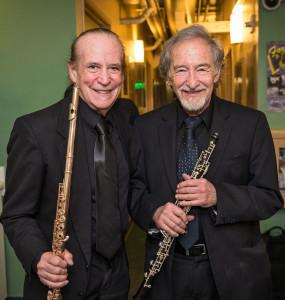 Los Angeles Chamber Orchestra Principal Flute David Shostac and Principal Oboe Allan Vogel