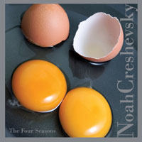 album cover for The Four Seasons CD by Noah Creshevsky