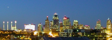 Kansas City at Night