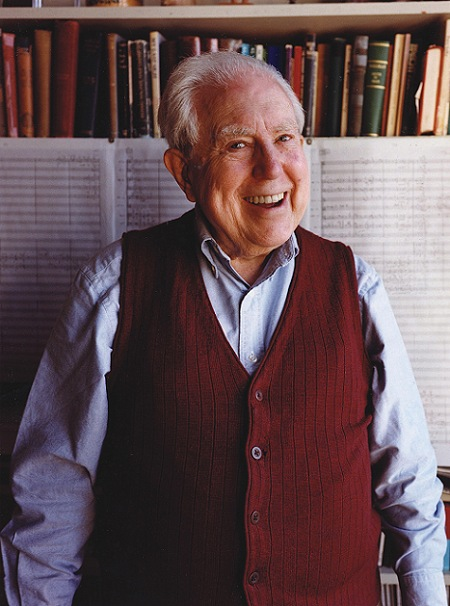 Elliott Carter. Photo credit: Meredith Heuer