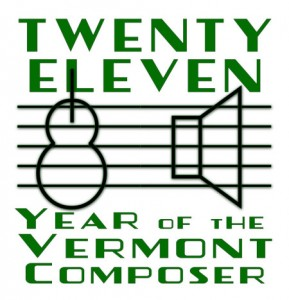 Year of the Vermont Composer Logo