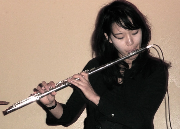 Houston-based flutist, composer, and improviser Michelle Yom