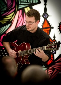 Composer guitarist George Heathco (photo by David DeHoyos