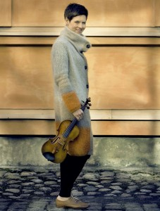 Violinist Isabelle Faust