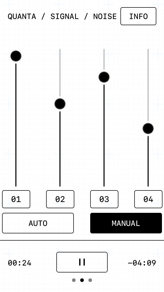 Quanta / Signal / Noise