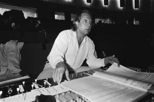 Stockhausen rehearses Michaels Heimkehr (photo: Wikimedia Commons)